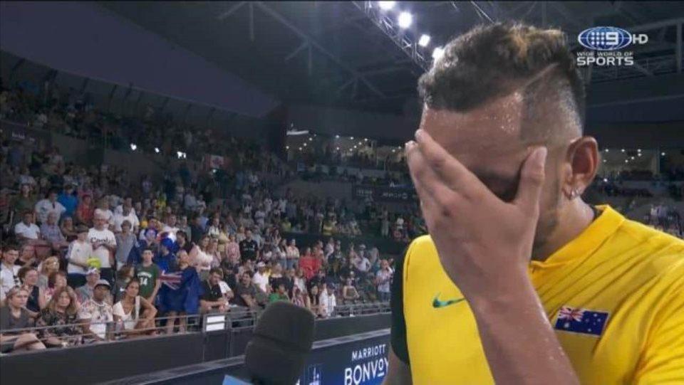 Ξέσπασε σε κλάματα ο Κύργιος μιλώντας για τις πυρκαγιές στην Αυστραλία (vid)